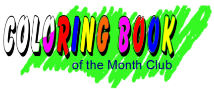 Coloring Book Of The Month Club Home